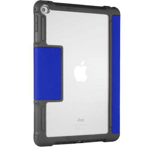 STM Dux 7.9 Inch Apple iPad Mini 4th Generation Tablet Case Blue Microfibre Polycarbonate TPU Scratch Resistant Shock Resistant