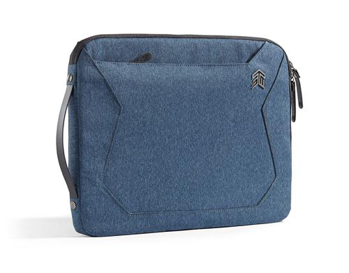 STM Myth Sleeve 15 Inch Notebook Briefcase Slate Blue Static Proof Front Pocket Interior Tablet Pocket Featherweight Ultra Protective Sheath