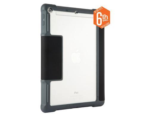STM Dux 9.7 Inch Apple iPad 5th 6th Generation Tablet Case Black Grey Polyurethane TPU Magnetic Closure Shock Resistant