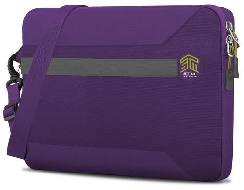 STM Blazer 2018 13 Inch Notebook Sleeve Case Royal Purple Polyester Water Resistant Form Fitting Sleeve