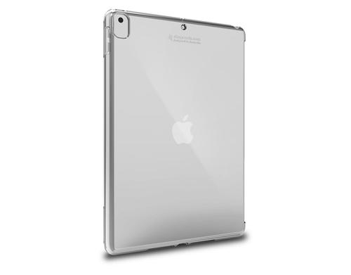 STM Half Shell 10.2 Inch Apple iPad 7th 8th Generation Tablet Case Translucent Clear Polycarbonate TPU Bump Resistant Scratch Resistant