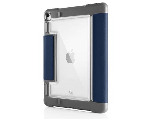 STM Dux Plus 9.7 Inch Apple iPad 5th 6th Generation Tablet Case Midnight Blue PU Polycarbonate TPU Magnetic Closure Shock Resistant Scratch Resistant