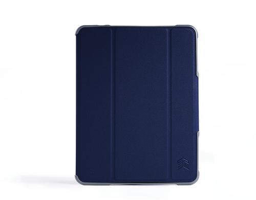 STM Dux Plus Duo 7.9 Inch Apple iPad Mini 4th 5th Generation Folio Tablet Case Midnight Blue Polycarbonate TPU Magnetic Closure
