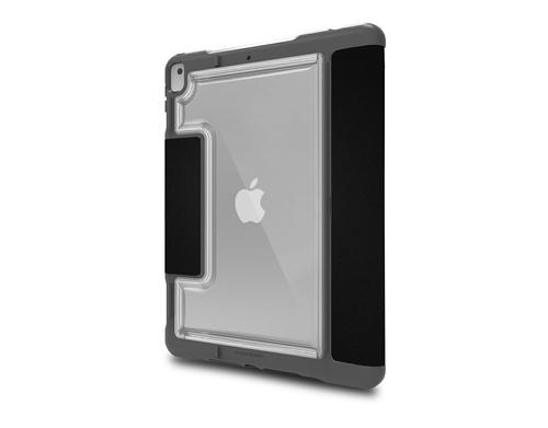STM Dux Plus Duo 10.2 Inch Apple iPad 7th Generation Folio Tablet Case Black Polycarbonate TPU Magnetic Closure