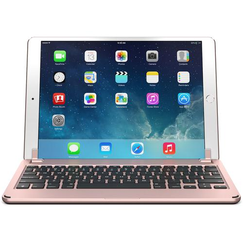 Brydge 10.5 Inches QWERTY English Bluetooth Wireless Keyboard for Apple iPad Pro Lightweight Aluminum Body