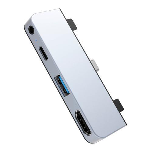 Drive 4 in 1 USB C Hub iPad Pro Silver