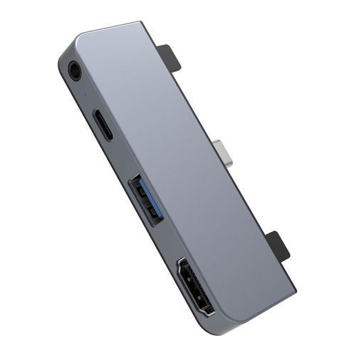 Drive 4 in 1 USB C Hub for iPad Pro Gray
