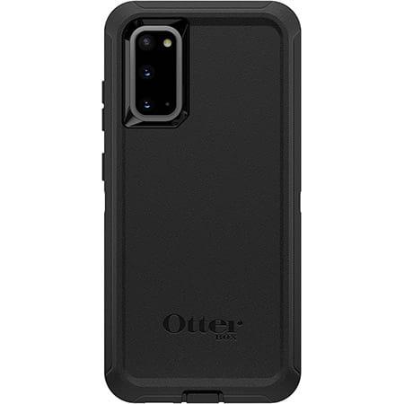 OtterBox Defender Series Rugged Protection for Samsung Galaxy S20 5G Black 3 Layer Protection Screenless Design