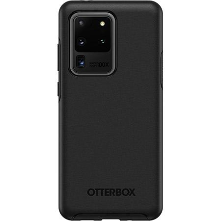 OtterBox Symmetry Series Black Phone Case for Samsung Galaxy S20 Ultra 5G Clear Scratch Resistant
