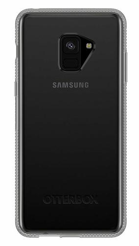 OtterBox Prefix Series Clear Phone Case for Samsung Galaxy A8 Plus 2018 One Piece Design Ultra Slim Bump Resistant Drop Resistant Shock Resistant TPU