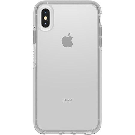 OtterBox Symmetry Series Clear Phone Case for Apple iPhone XS Max Ultra Slim Profile Precision Design Raised Screen Bumper Drop Protection