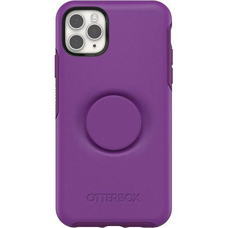 OtterBox Pop Symmetry Series Phone Case for Apple iPhone 11 Pro Max Purple Lollipop Slim and Protective