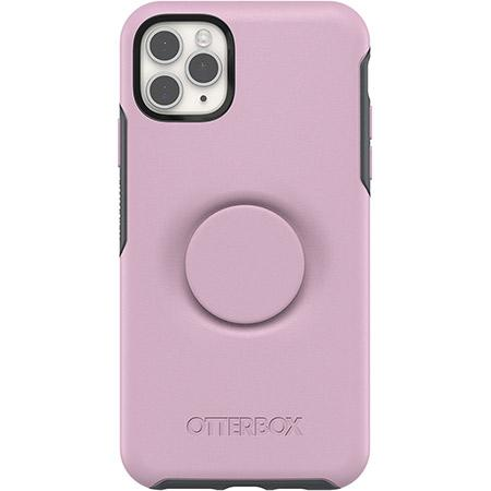 OtterBox Otter Plus Pop Symmetry Series Phone Case for Apple iPhone 11 Pro Max Pink Mauveolous Slim and Protective