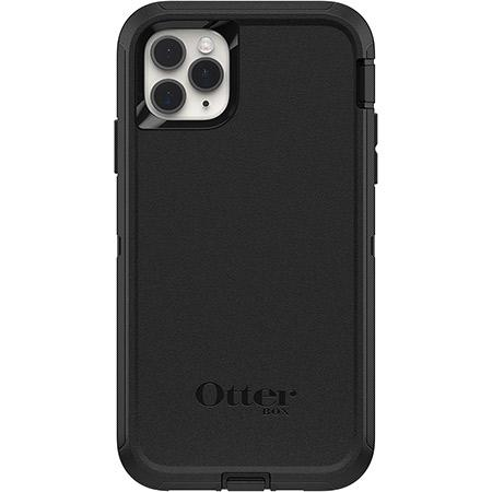 OtterBox Defender Series Rugged Protection for Apple iPhone 11 Pro Max Black 3 Layer Protection Screenless Design