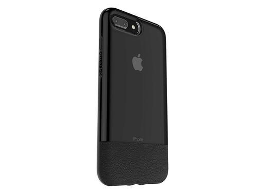 OtterBox Slim Case Bundle Pack Shockproof Case and Alpha Glass Screen Protector for Apple iPhone 7 Plus 8 Plus Black Sleek Design