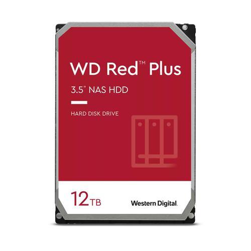 Western Digital WD Red Plus 12TB 3.5 Inch NAS 7200 RPM SATA 6Gbs 256MB Cache Internal Hard Drive