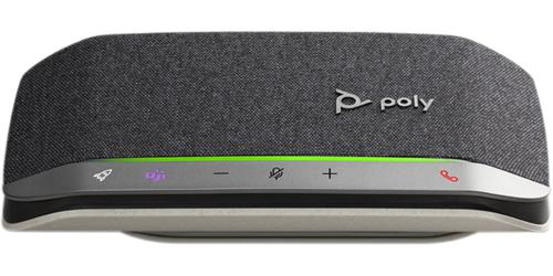 Poly Sync 20 USB C Bluetooth Mono Speakerphone Compatible with Mac and Windows