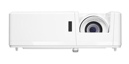 Optoma ZW400 DLP WXGA 3D 4000 ANSI Lumens Desktop Projector 1280 x 800 Resolution HDMI VGA Audio 3.5mm Jack USB A RS232 RJ45 White