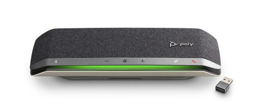 Poly Sync 40 Bluetooth and USB A Mono Speakerphone Compatible with Mac and Windows 3 Microphones