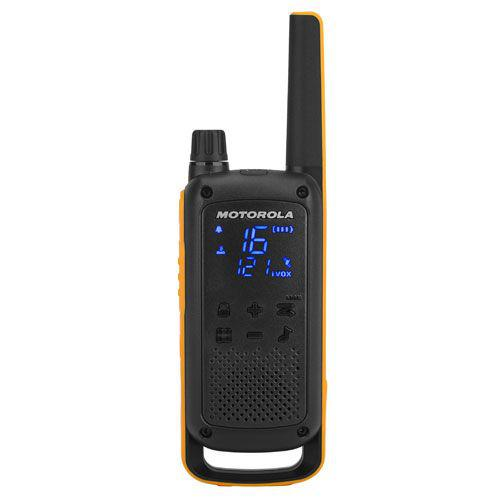 Motorola Talkabout T82 Extreme Walkie Talkies 2 Way Radios Twin Pack Up to 10km Range 121 Privacy Codes Channel Monitor Auto Squelch Weatherproof