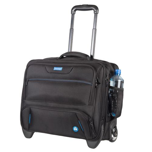 Lightpak ECO Business Trolley Made From Recycled PET Black 46215