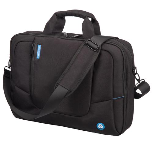 Lightpak ECO Laptop Bag Made From Recycled PET Black 46202