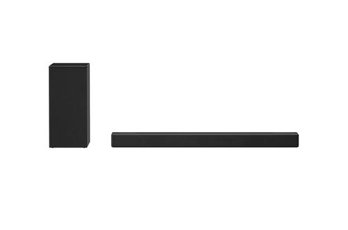 LG SN7CY 3.0.2 All in One SoundBar with MERIDIAN Technology Dolby Atmos and DTSX 3.0.2 Channels Surround System High Resolution Audio AI Sound Pro