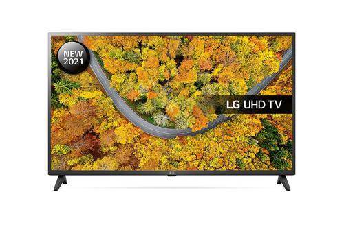 LG 43 Inch 43UP75006LF 4K Ultra HD LED Smart TV webOs Smart Platform Al Sound 2xHDMI Ports 1xUSB.20 Port 2xRF Ports HDCP