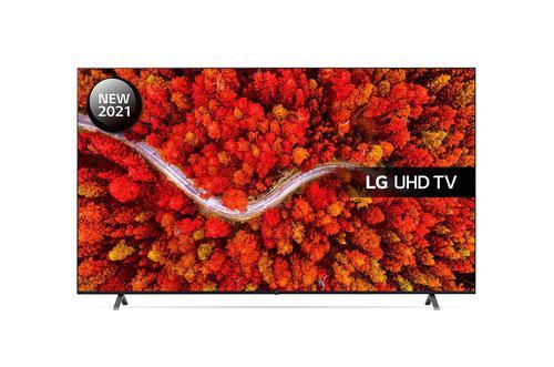 LG 82 Inch 82UP80006LA 4K Ultra HD Smart TV WiFi Dolby Vision IQ and Dolby Atmos 4xHDMI Ports 3xUSB2.0 Ports 2xRF Ports HDCP Port RJ45 Port
