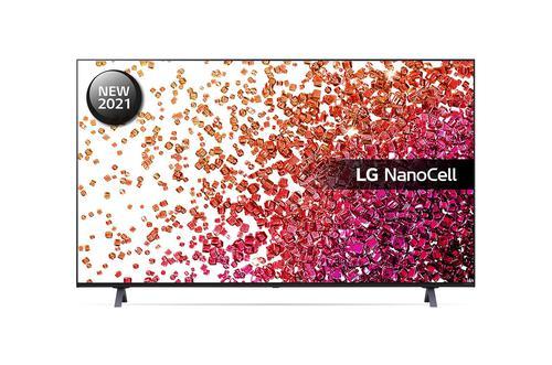 LG 75 Inch 75NANO756PA NanoCell 4K Ultra HD Smart TV WiFi Fast Quad Core Processor AI Sound 3xHDMI Ports 2xUSB2.0 Ports 2x RF Ports HDCP and RJ45