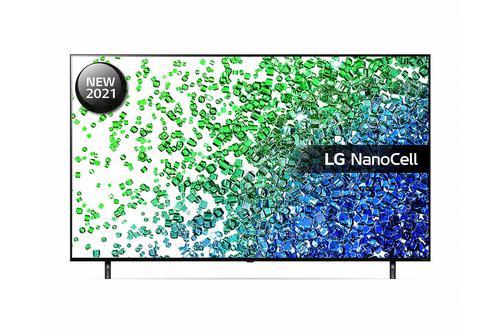 LG 55 Inch 55NANO806PA NanoCell 4K Ultra HD Smart TV WiFi Quad Core Processor Al Sound 4x HDMI Ports 2xUSB2.0 Ports 2x RF Ports HDCP and RJ45