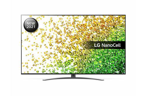 LG 86 Inch 86NANO866PA NanoCell 4K Ultra HD Smart TV WiFi Dolby Vision IQ and Dolby Atmos with 4x HDMI Ports 3xUSB2.0 Ports 2x RF Ports HDCP RJ45