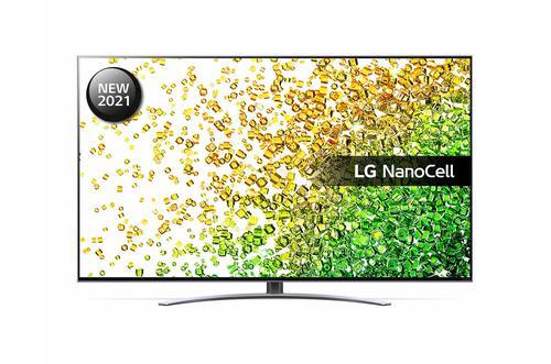 LG 55 Inch 55NANO886PB NanoCell 4K Ultra HD Smart TV WiFi Dolby Atmos and Dolby Vision IQ with 4x HDMI Ports 3xUSB2.0 Ports 2xRF Ports RJ45 Port