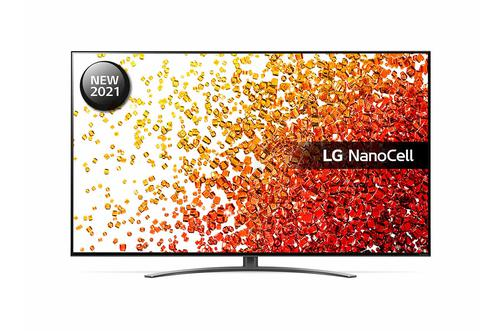 LG 86 Inch 86NANO916PA NanoCell 4K Ultra HD Smart TV WiFi Dolby Vision IQ and Dolby Atmos with 4x HDMI Ports 2x RF Ports HDCP Port RJ45 Port