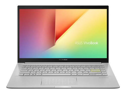 ASUS VivoBook 14 Inch Core i5 16GB 512GB SSD Windows 10 Home Silver