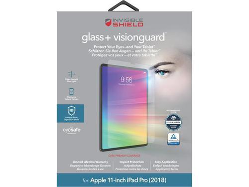 Invisible Shield Glass Plus VisionGuard Screen Protector for Apple iPad 11 Inch 2018
