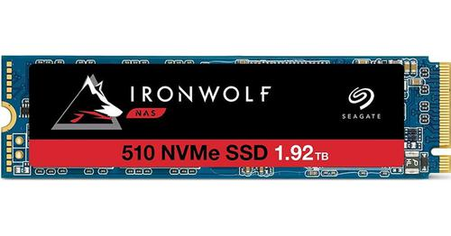 Seagate IronWolf 510 1.92TB PCI Express 3.0 M.2 3D TLC NVMe Internal Solid State Drive