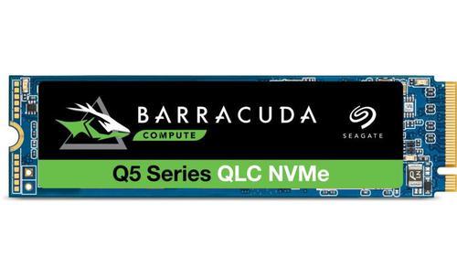Seagate BarraCuda Q5 2TB M.2 2000 GB PCI Express 3.0 QLC 3D NAND NVMe Internal Solid State Drive
