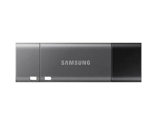 Samsung 256GB Duo Plus USB 3.1 USB C Flash Drive Read Speeds of up to 300MBs Write Speeds of up to 30MBs