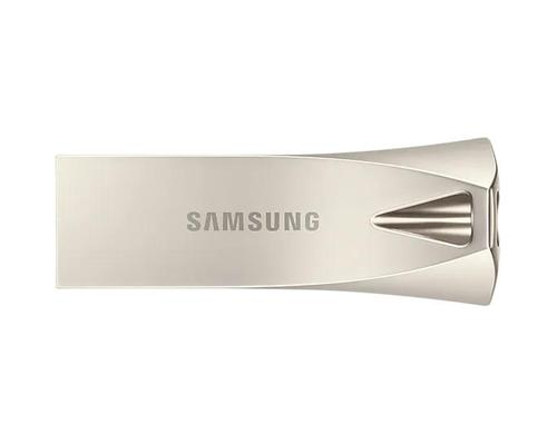 Samsung 32GB Bar Plus USB3.1 Flash Drive Champagne Silver Read Speeds of up to 200MBs Write Speeds of up to 30MBs