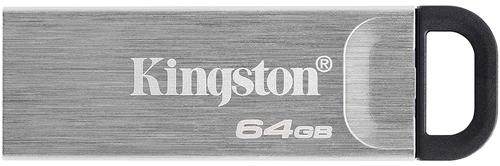 Kingston Technology 64GB Kyson USB3.2 Gen 1 Metal Capless Design Flash Drive