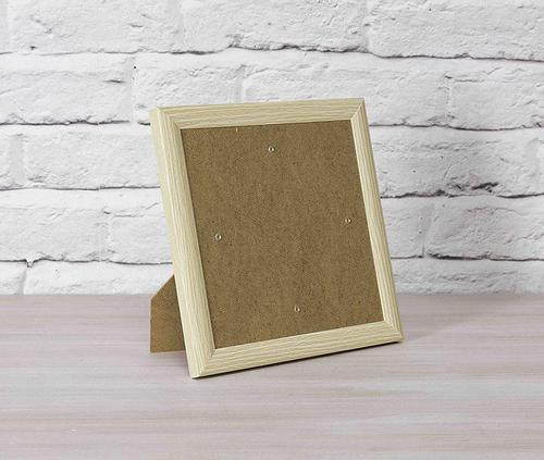 Crystal Art Wood Effect 21 x 21cm Picture Frame Card CCKF18-3