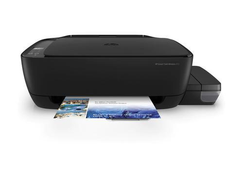HP 455 Wireless Inkjet Colour Multifunction Printer Print Scan Copy Automatic Duplex Print 60 Sheets Input