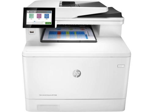 HP Colour LaserJet Enterprise M480f Colour Laser Multifunction Printer Print Scan Copy Fax