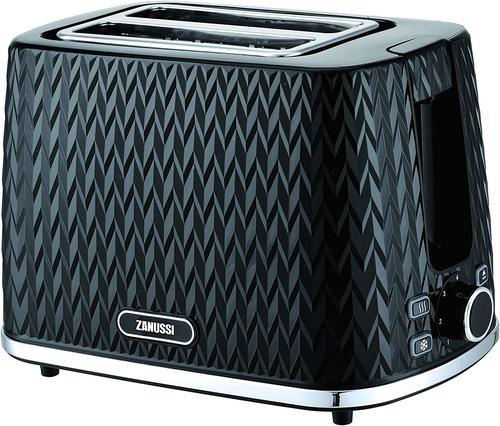 Zanussi ZST6550BK Black 2 Slice Toaster