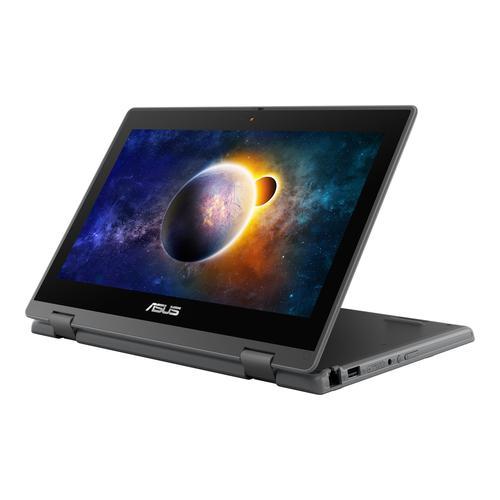 ASUS BR1100FKA BP0428RA 3Y Hybrid 2in1 11.6 Inch Notebook Intel Celeron N4500 4GB 64GB eMMC WiFi 5 802.11ac Windows 10 Pro Grey