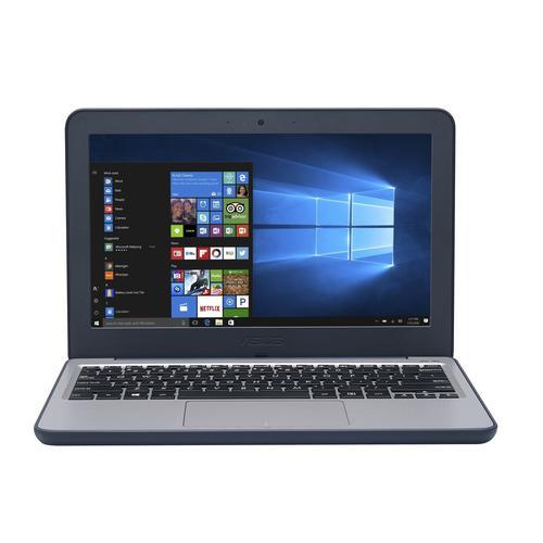 ASUS W202 11.6 Inch Intel Celeron N3350 4GB RAM 64GB eMMC Intel HD Graphics 500 Windows 10 Pro National Academic Notebook
