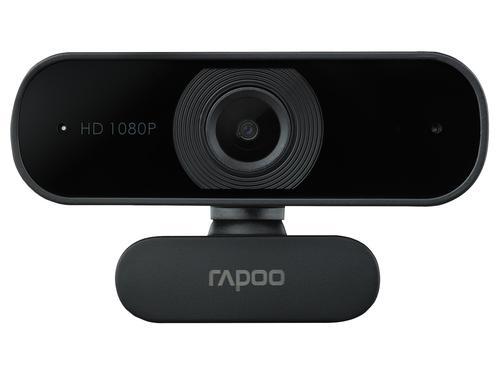 Rapoo XW180 1080p USB 2.0 Webcam 1920 x 1080 Pixels Resolution 80 Degree Wide Angle View Autofocus