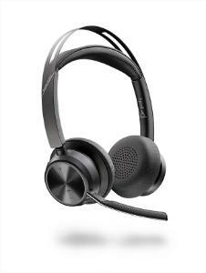 Poly Voyager Focus 2 UC USB C Headset without Charging Stand Bluetooth Advanced Digital Hybrid Active Noise Cancellation