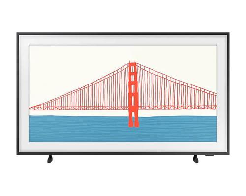 Samsung The Frame Art Mode 43 Inch QLED 4K Ultra HD Quantum HDR Smart TV 2x USB 2.0 Ports 4x HDMI Ports 1x RJ45 Port